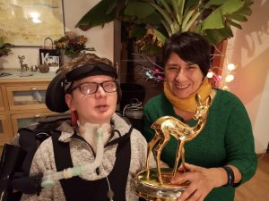 Cecilia García und IntensivLeben Bambi