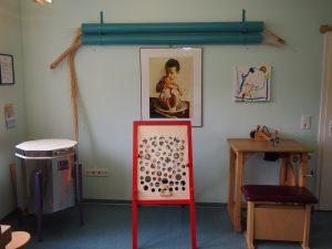 Parte del taller de nuestra clínica